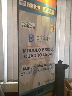 BRIDGE module on the Legal Framework in Maputo, 27-29 Oct 2015